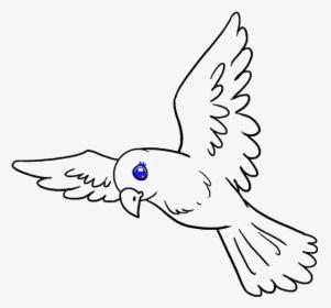 Transparent Bird Drawing Png Draw A Small Bird Png Download Kindpng