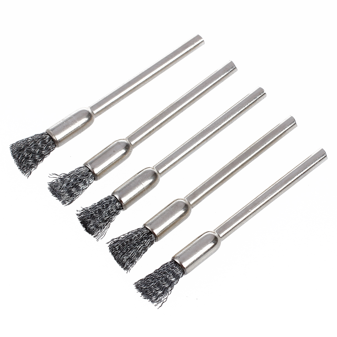 Wire Brush For Drill 3 Mm X 5 J7u9