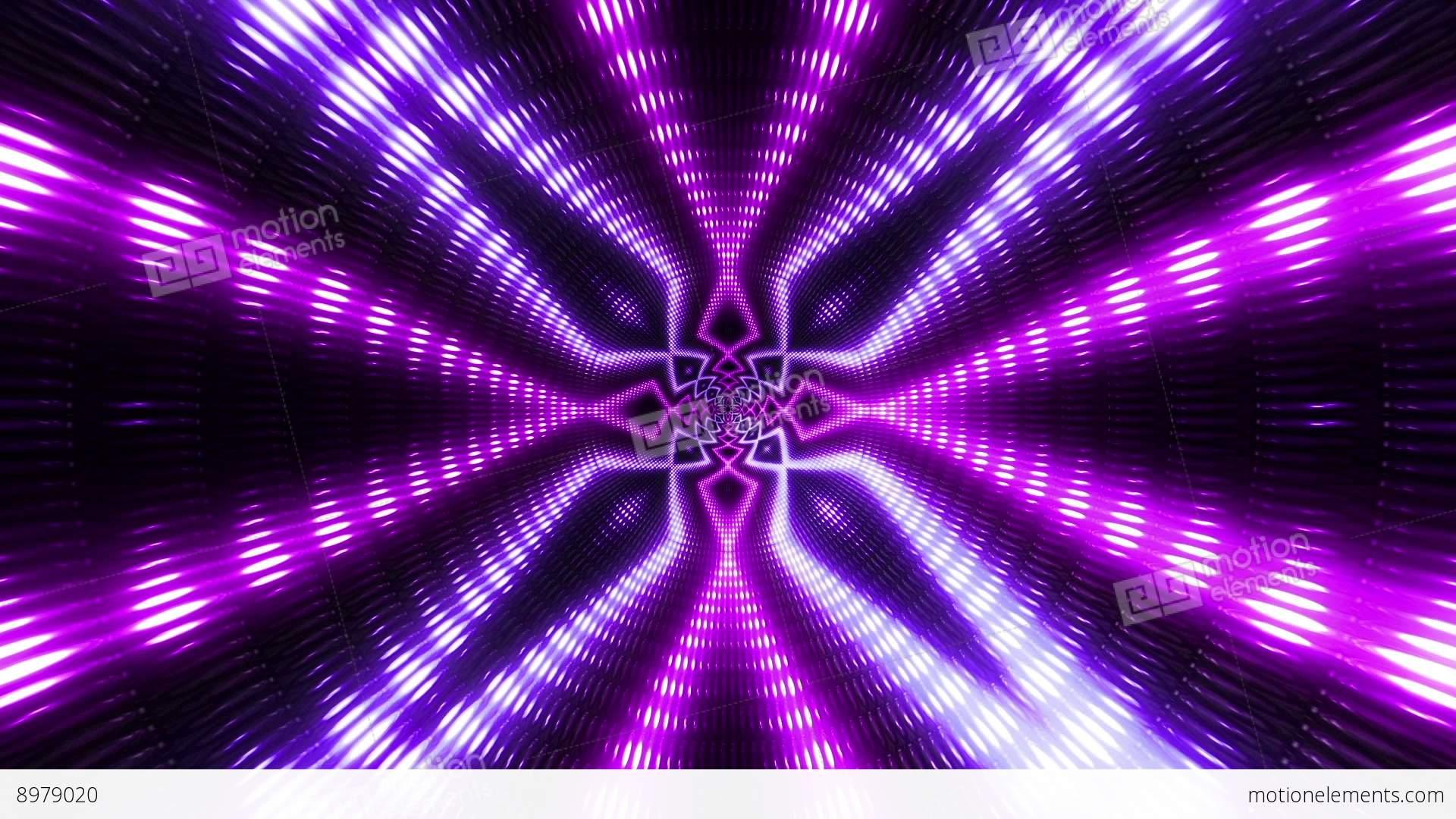 VJ Flashing Lights Wall Colorful Stage Purple Stock