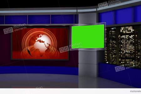 News Overlay Green Screen Free Backgrounds Video P HD Stock Popular Studio A Assignment Desk Red Chroma Key Tv