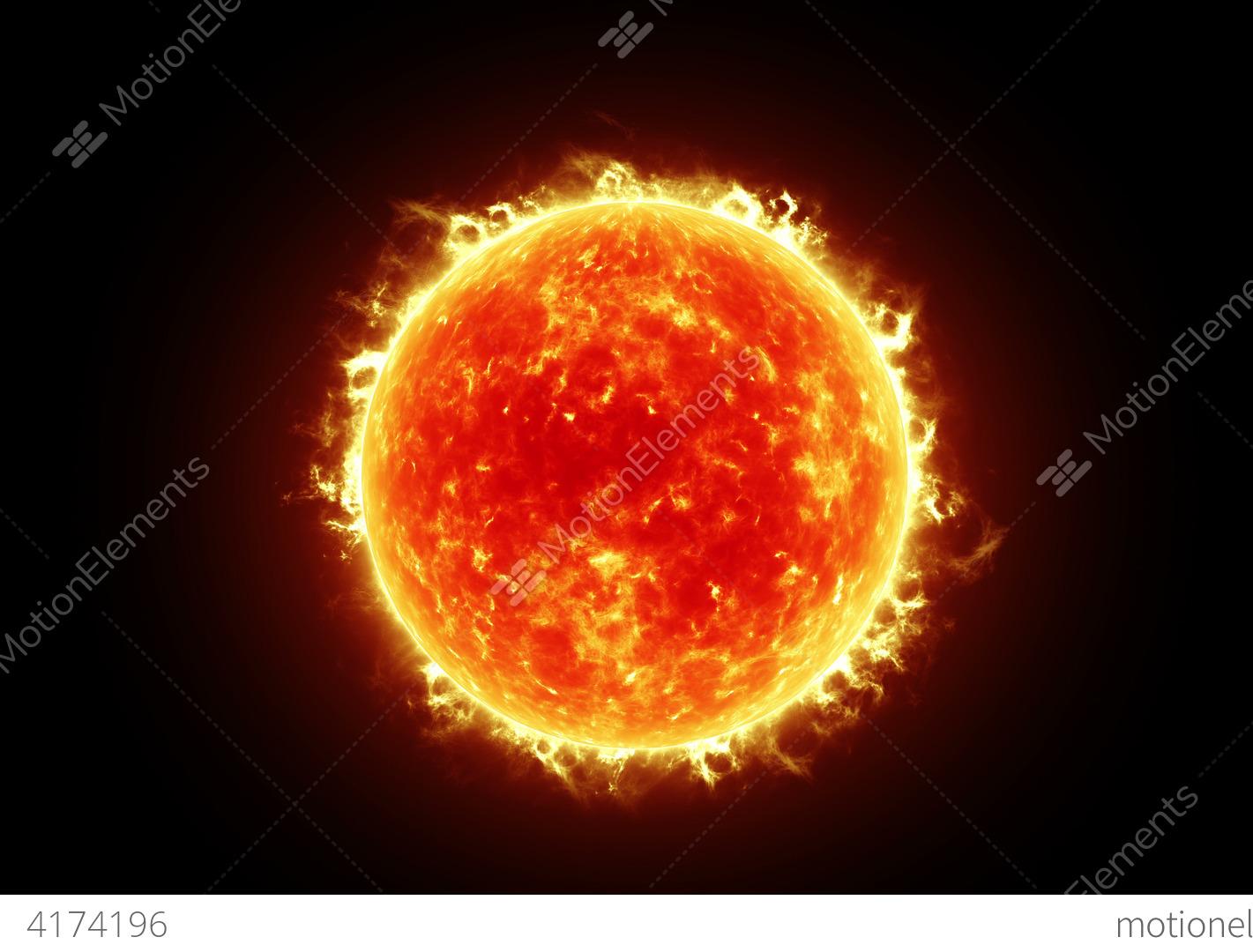 Sun 4k Stock Animation 4174196