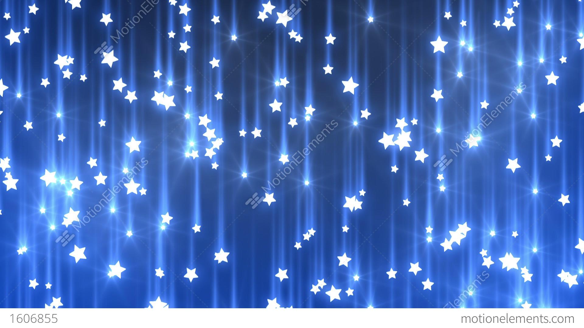 Falling Stars Stock Animation 1606855