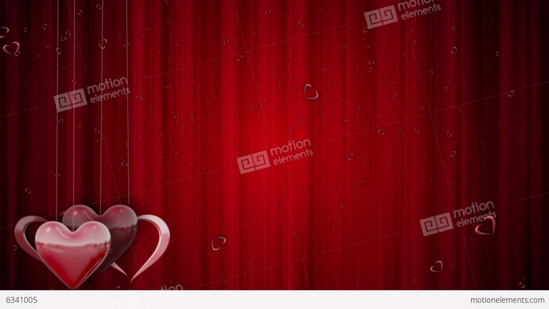 Shining Valentines Love Heart Shapes