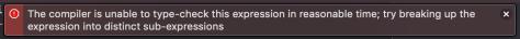 Unexpected Xcode Error