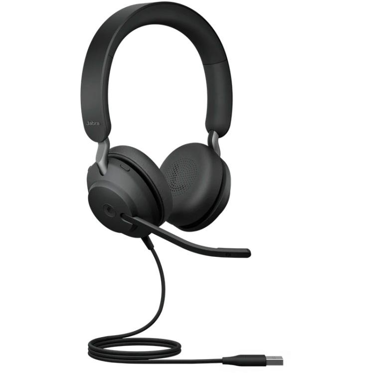 Jabra Evolve2 40 headset USB-A, Microsoft Teams