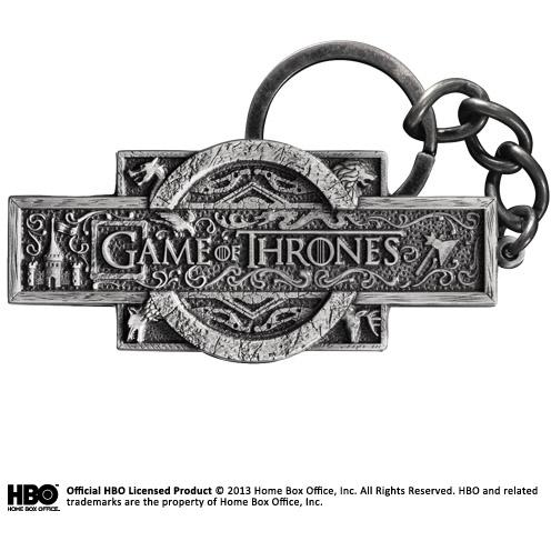 Game of Thrones sleutelhanger - Opening Sequence Logo