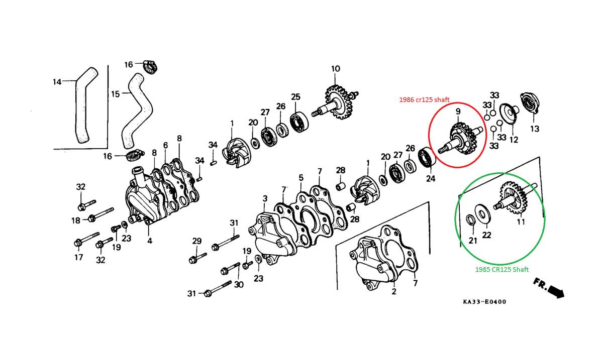 1998 Cr250 Wiring Diagram Trusted Schematics 400 Amp Service Honda A