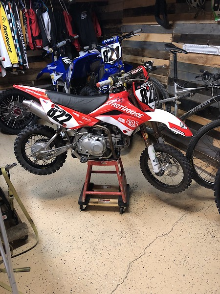 lets see your pitbike builds bike
