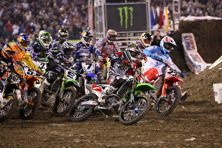 2012 AMA Supercross - Round 1 Start  (photo by VitalMX.com)