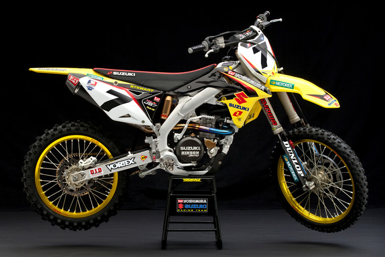 Stock RM 450 Photo - Old Design ? - Suzuki Photo