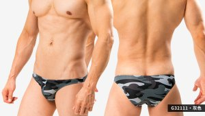 包臀,迷彩,細邊,低腰,三角褲,男內褲,cover hip,camouflage,thin side,low waist,briefs,g3211