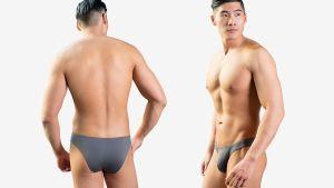 滑順,半包臀,三角褲,男內褲,silky,half-shape,briefs,underwear