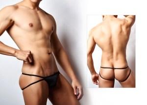 極限,低腰 ,輕薄,絲滑,後空褲,男內褲,low waist,silky,jockstraps,underwear