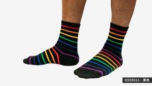 條紋,彩虹,半筒,運動,襪,strips,rainbow,socks,sports,ks5901