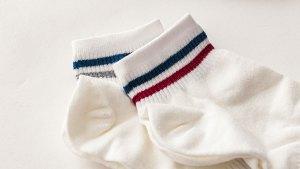 雙條紋,短襪,double stripe,short socks,ksf001