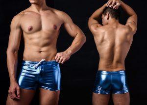 亮面,仿皮,四角,泳褲,男泳褲,shinny,imitation leather,boxers,swimwear