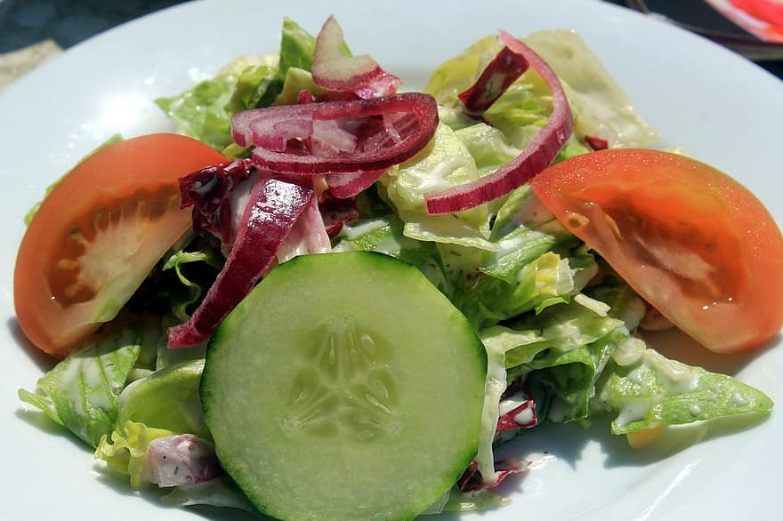 salad, fresh, food, diet, health, meal, weight loss