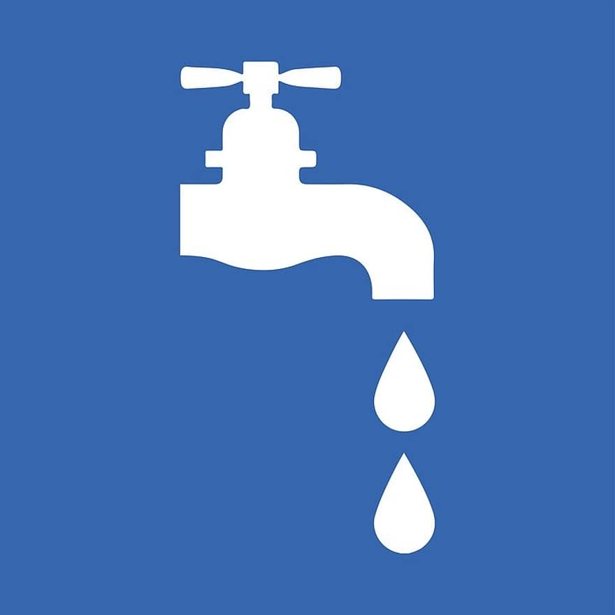 water drop faucet clean bathroom