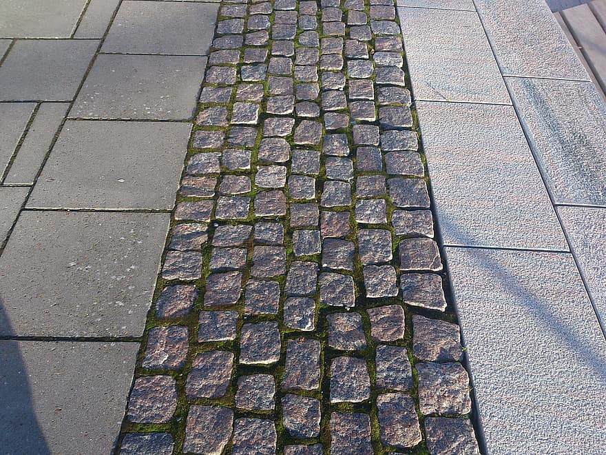 Pave Tuile Texture Modele Gris Gris Clair Gris Fonce Nuances Chemin Carrelage Pikist