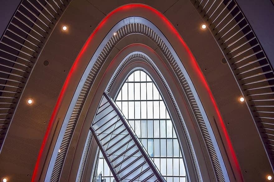 Architecture Floors Building Staircase Stairs Modern House   Staircase Window Glass Design   Geometric   Architecture   Flower   Residential   Glass Brick