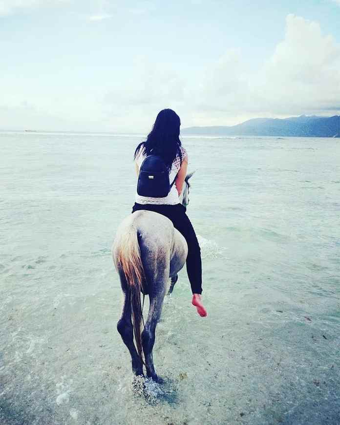 Horse Woman Beach Bali Indonesia Asia Balinese Water Culture Travel Nature Pikist