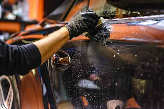 how to polish car with first step of cleaning