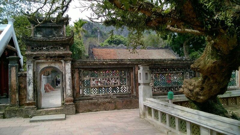 Temple du roi Dinh à Hoa Lu