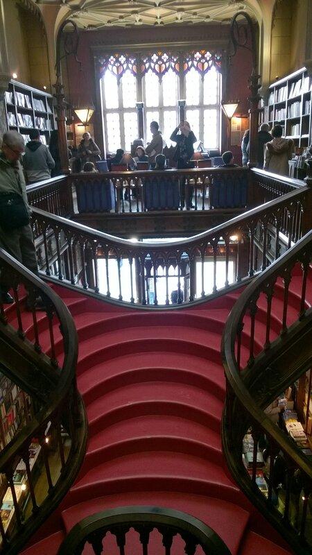 La célèbre et magnifique librairie Lello & Irmao