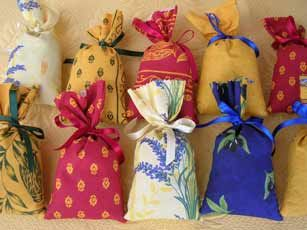 sachets lavande pour le linge