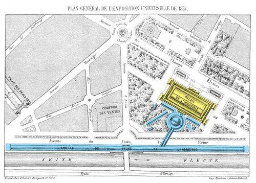 Plan Expo 1855