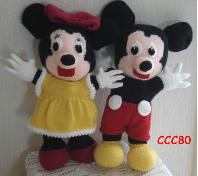 Mickey Minnie LES CREATIONS CCC80