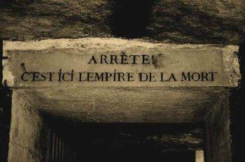 Paris Katakombu giriş