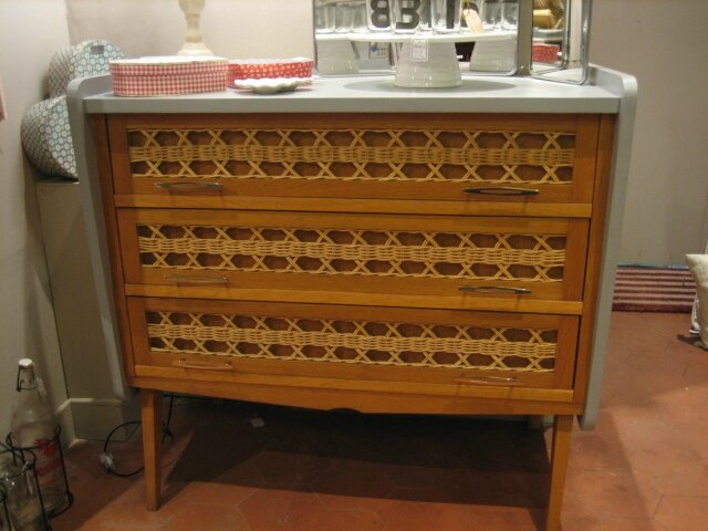 Commode Rotin Annes 60 Lilicabane