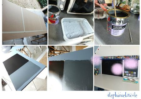 idee deco peinture magnetique idee deco peinture ardoise