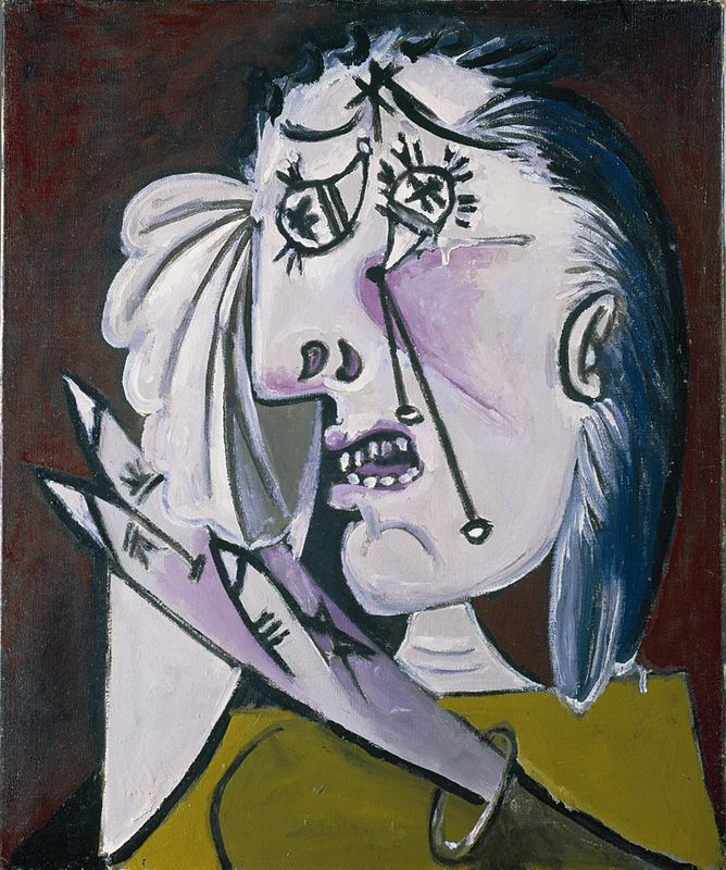 Image result for picasso angry