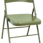 Cosco 14 711 Ant4 All Steel Folding Chair Antique Linen 044681344923 2
