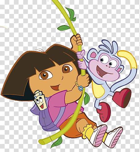 Dora The Explorer Dora And Boots Transparent Background Png Clipart Hiclipart