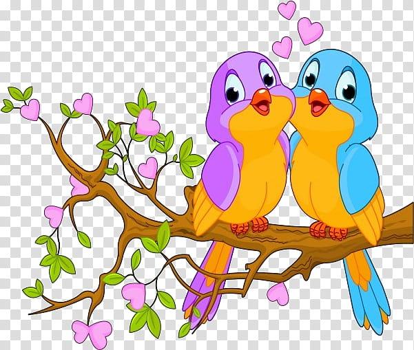 Love Bird Lovebird Parrot Drawing Bird Nest Document Branch Cartoon Transparent Background Png Clipart Hiclipart