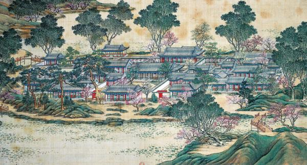 Image result for 圆明园 九州清晏