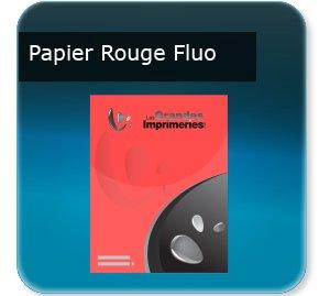 Affiches Papier rouge fluo