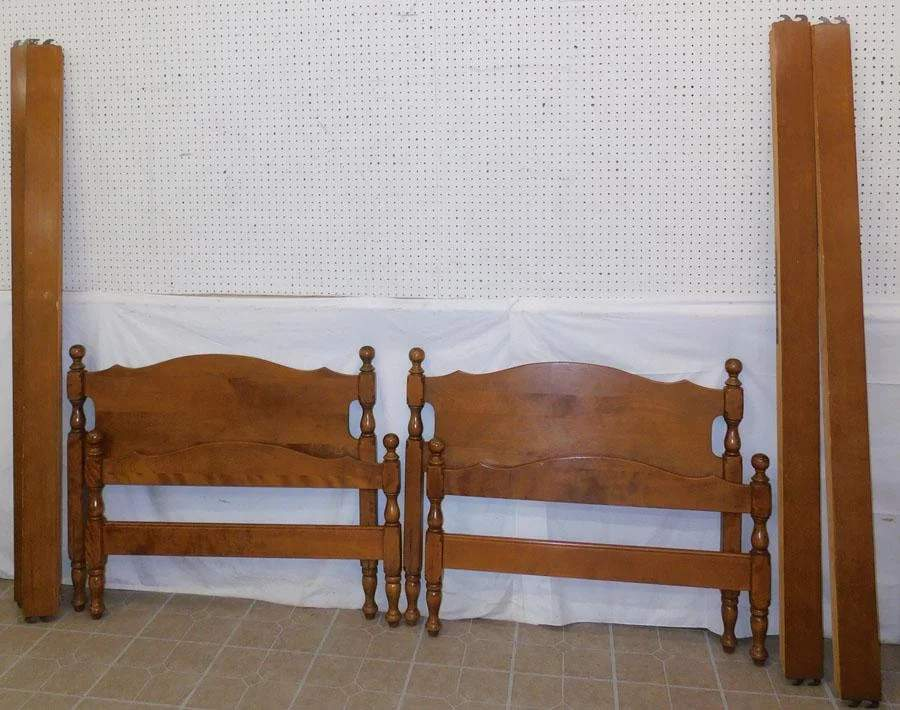ethan allen twin trundle bed aug 29