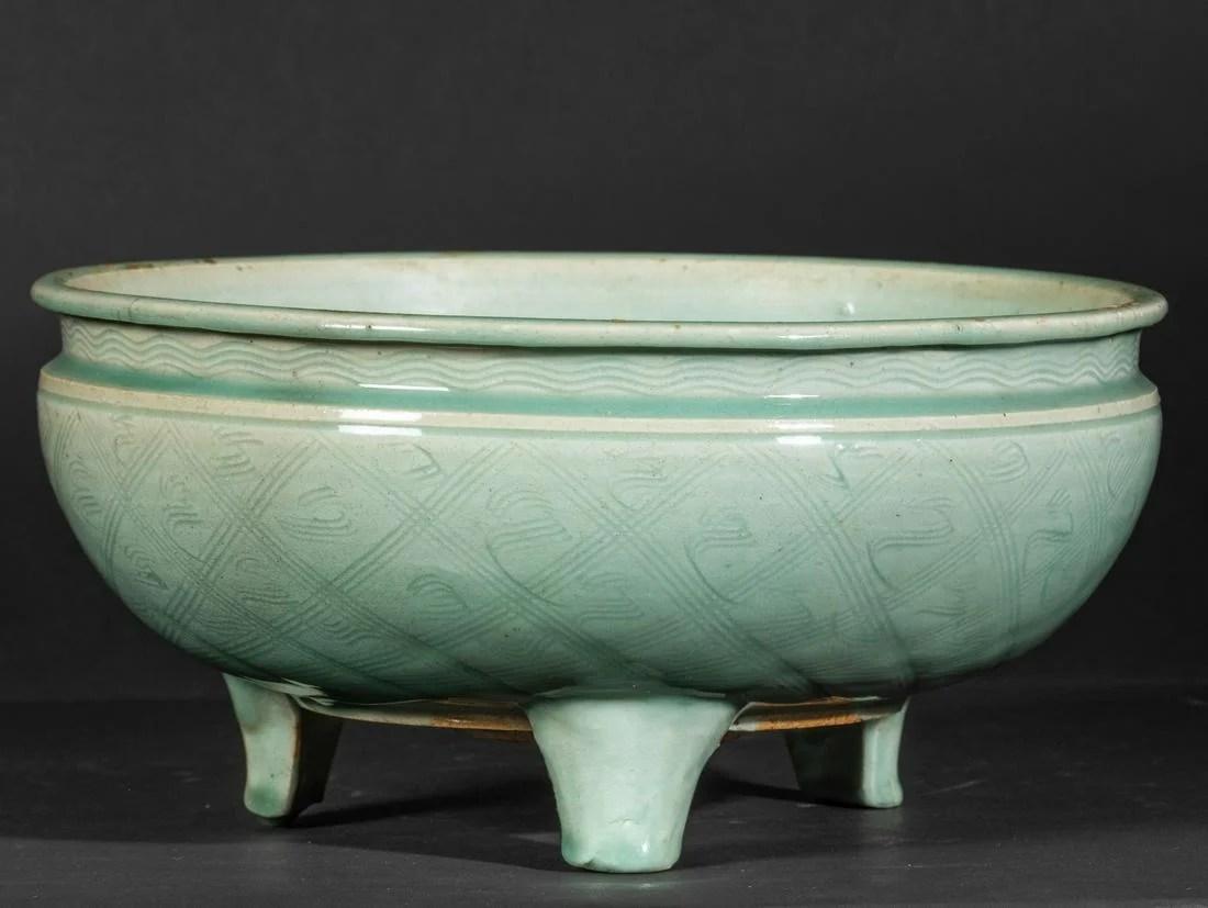 A Celadon censer, China, Yuan/Ming Dynasty