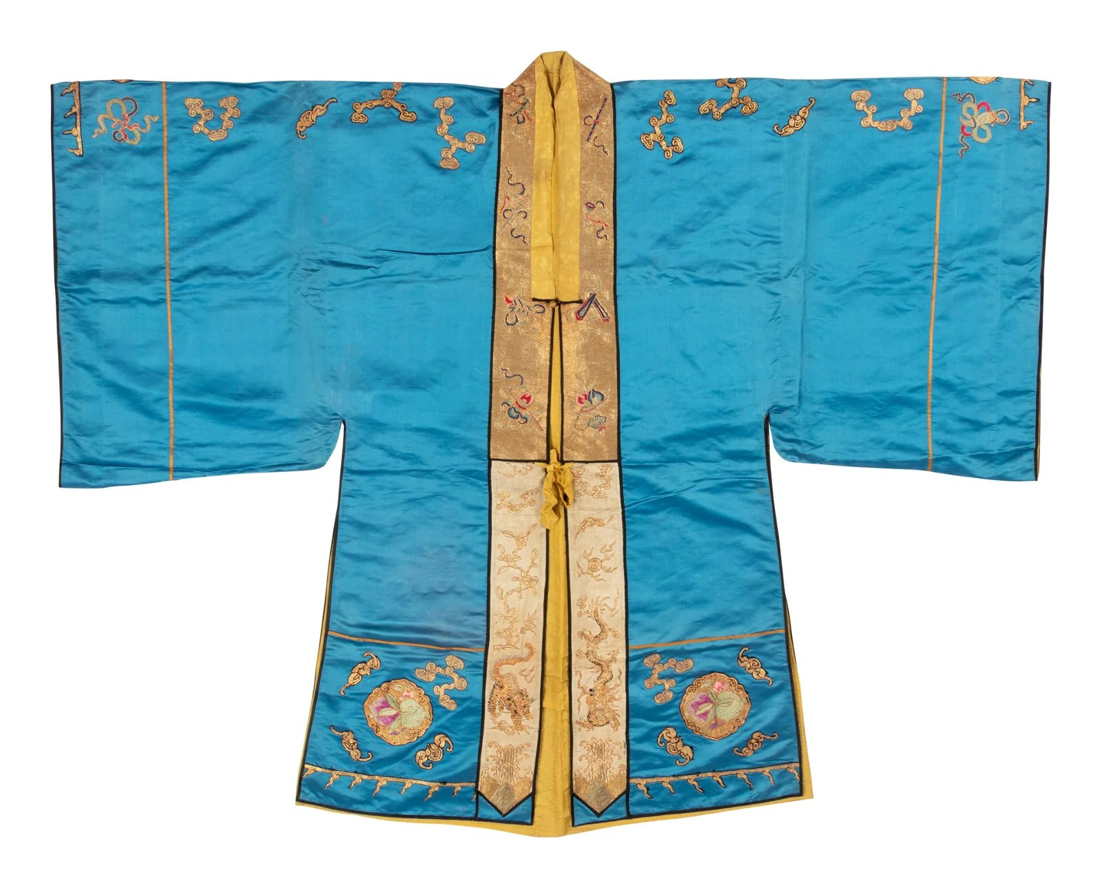 A Blue Ground Daoist Priest