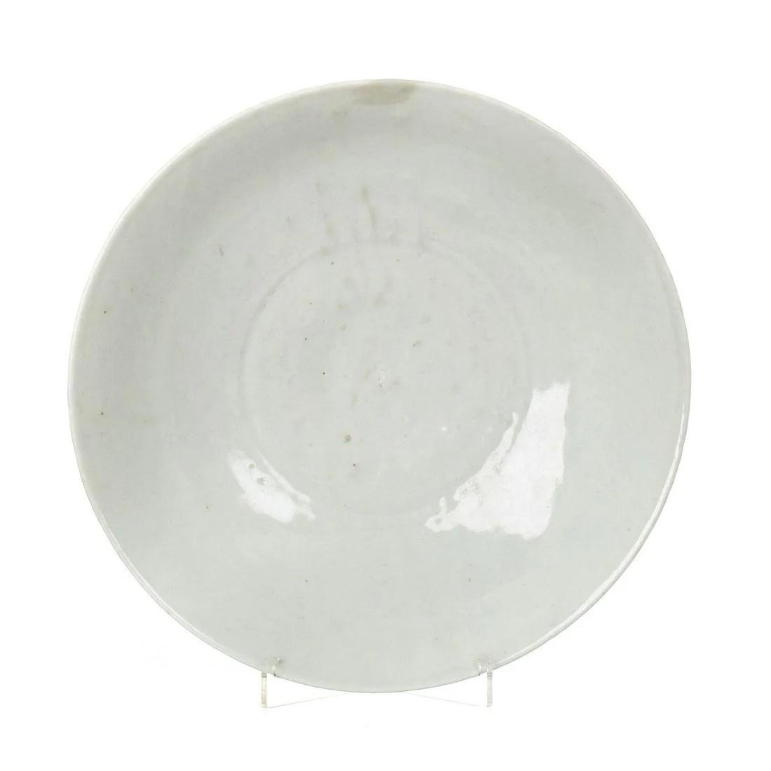 Celadon ceramic plate, Ming