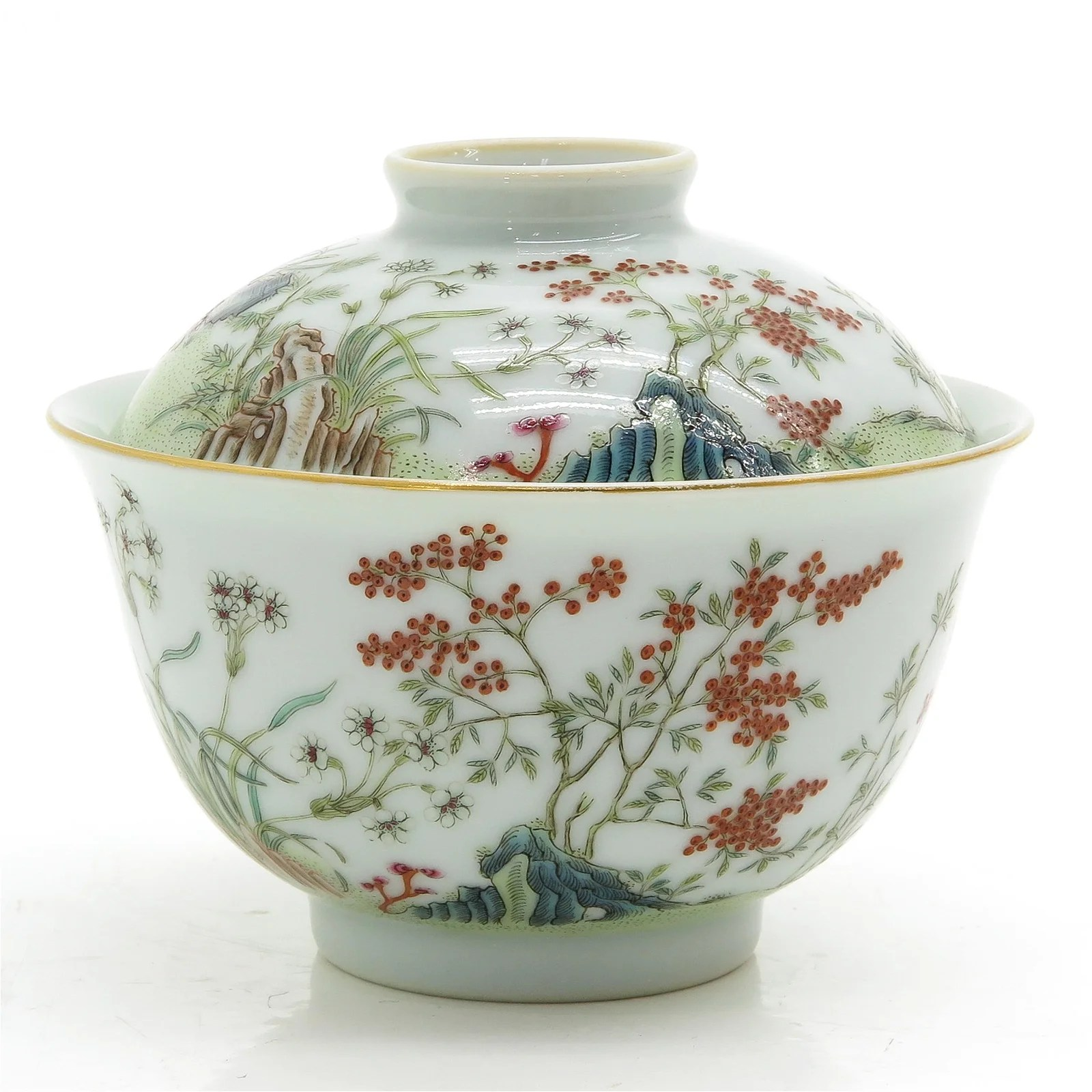 A Chinese Cup and Cover