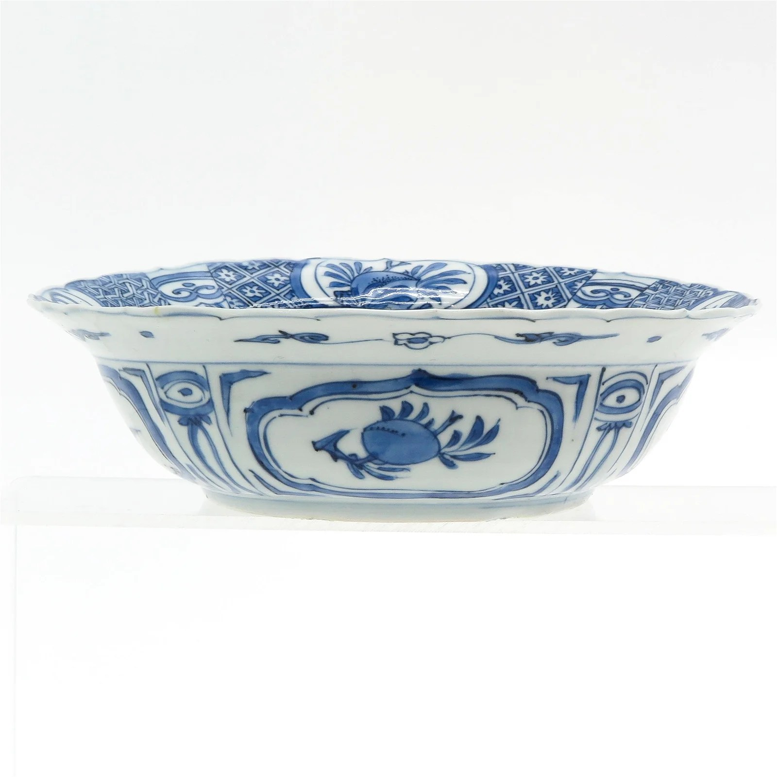 A Chinese Kraak Flared Rim Bowl