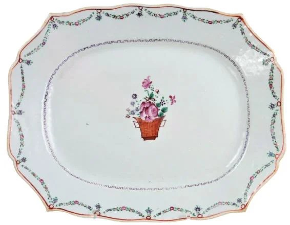 18th/19th C Chinese Export Porcelain Platter