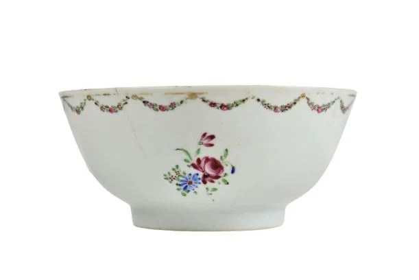 18th C Chinese Export Decorated Bowl
