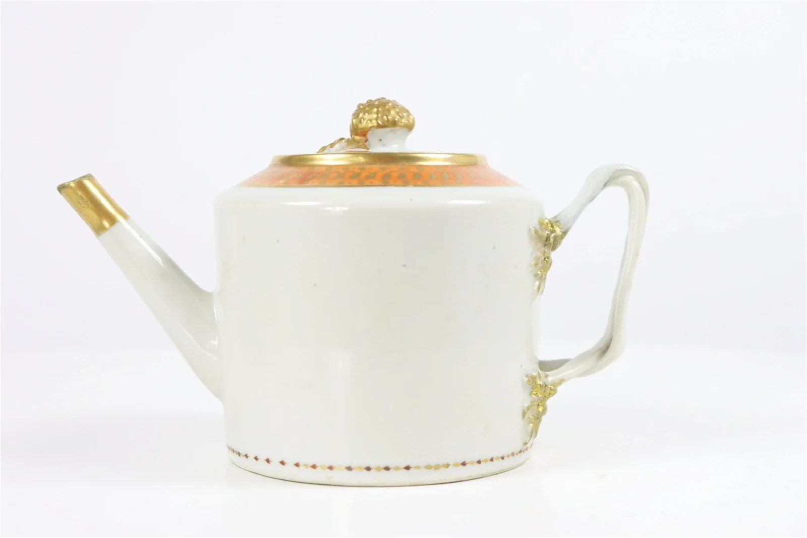 Chinese Export Teapot, 18th/19th C