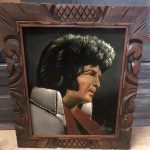 Black Velvet Painting Of Elvis Presley Aug 10 2019 Gallery 63 In Ga